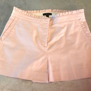 NWOT J. Crew Shiny Shorts 6